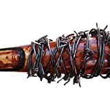 Real Lucille Prop Replica, Real Barbed Wire Baseball Bat, Inspired By The Walking Dead