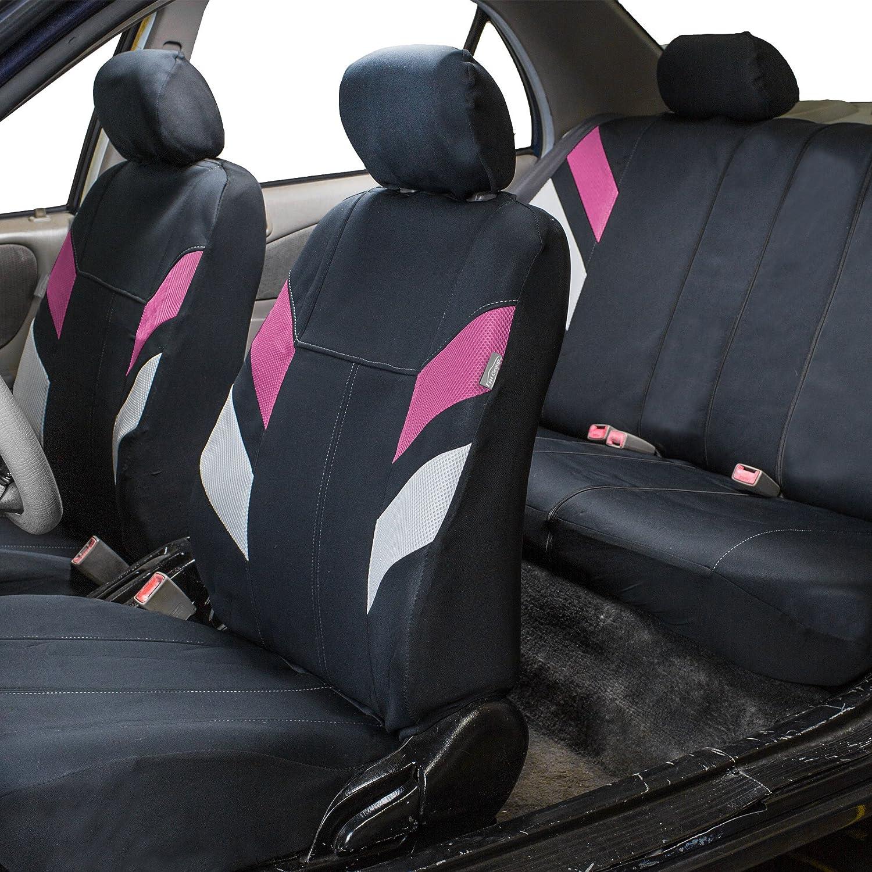 Semi-Universal Modern Edge FH Group FB086115GREEN Green Neoprene Seat Cover