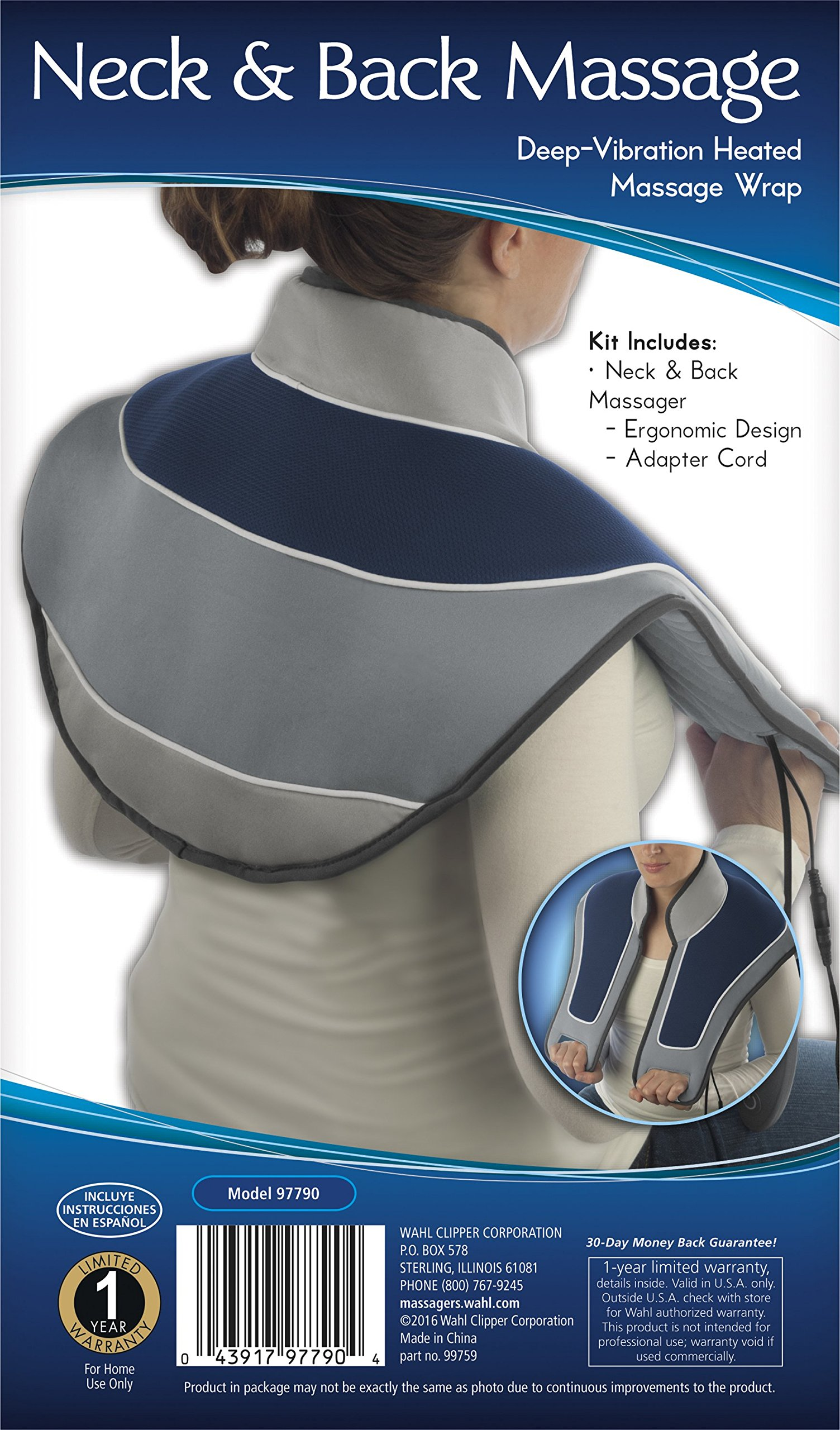 Heat Massage Therapy For Neck And Shoulder Soft Pad Heated