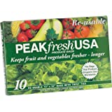 Peak Fresh Re-Usable Produce Bags, Set of 10