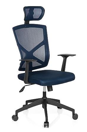 De Maille Mybuero Bleu Tissu Startec Gy200 Chaise Bureau TiukPXZO