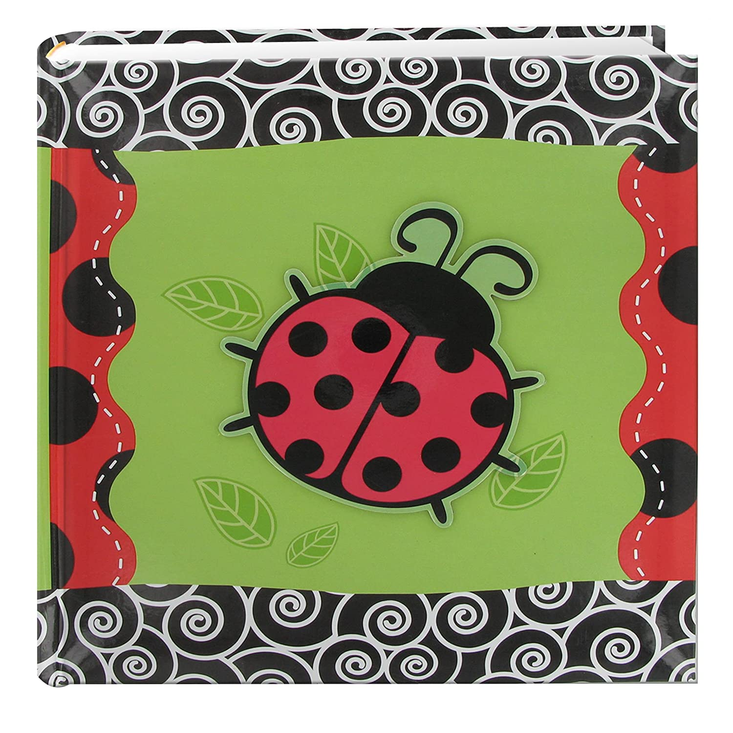 Pioneer Photo Albums 200-Pocket 3-D Lady Bug Applique Cover Photo Album, 4 by 6-Inch DA-200/L