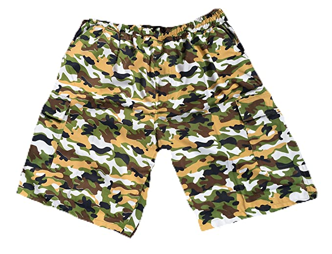 333d42fcae Mens Big Casual Cool Smart Multi Pocket camo Cargo Shorts Full FIT New 2XL  3XL 4XL 5XL: Amazon.co.uk: Clothing