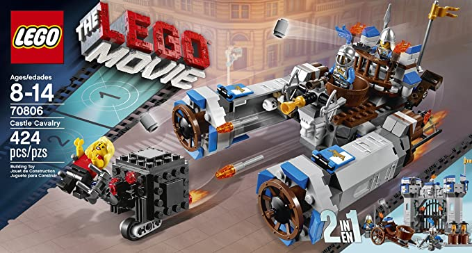 Amazon Com Lego Movie Castle Cavalry 70806 Discontinued By Manufacturer Toys Games