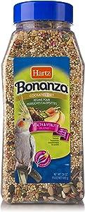 Hartz Mountain Bonanza Cockatiel Food 24 oz