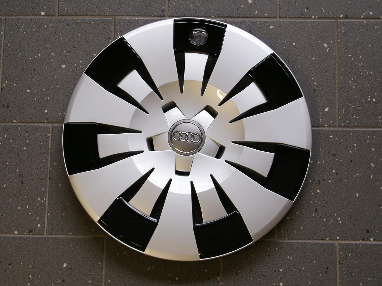 Juego de tapacubos Audi 8V original A3/S3 protección, tuning, accesorios, embellecedores: Amazon.es: Coche y moto