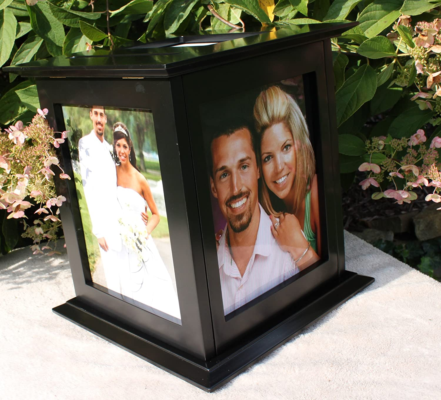 Amazon Wedding Card Box Rotating The Perfect Card Box In – Picture Frame Wedding Card Box
