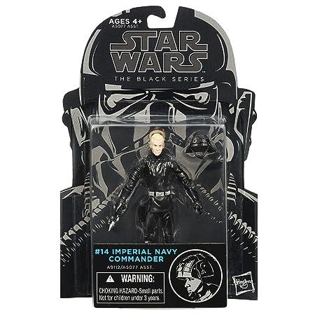 Star Wars El Negro Serie Imperial azul marino Comandante 9,5 x figura: Amazon.es: Juguetes y juegos