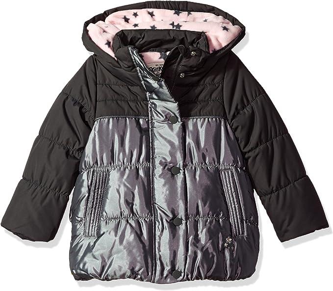 Osh Kosh B/'gosh Girls Perfect Colorblocked Heavyweight Jacket Size 4 5//6 6X