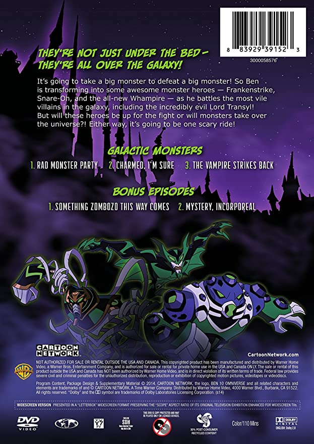 cartoon network ben 10 omniverse galactic monsters amazon ca