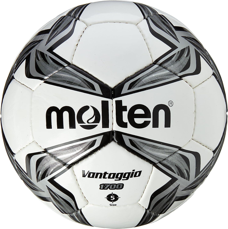MOLTEN 1700 Series - Balón de fútbol de competición, Color Negro ...