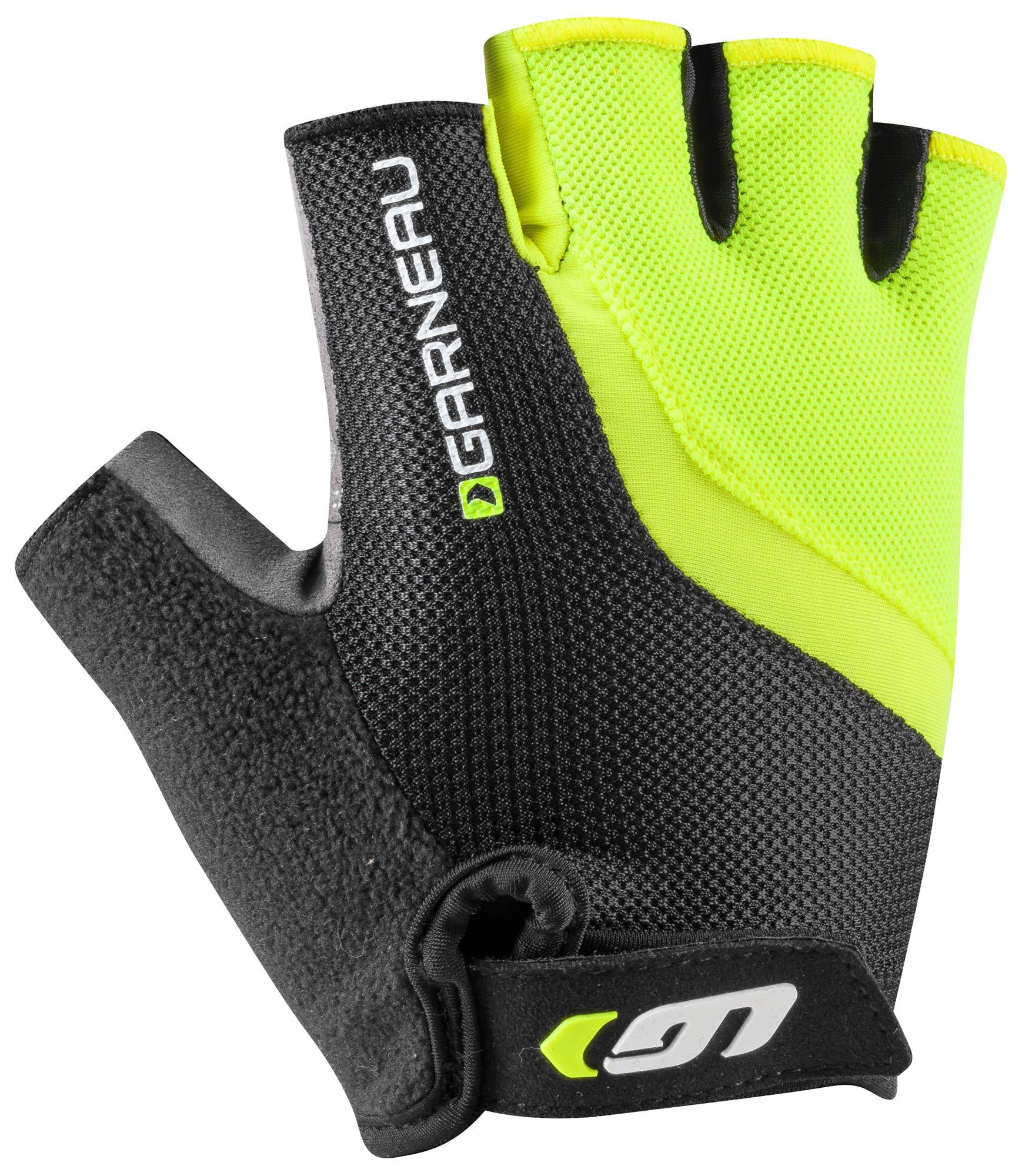Louis Garneau Men's Biogel RX-V Bike Gloves, Bright Yellow, X-Small