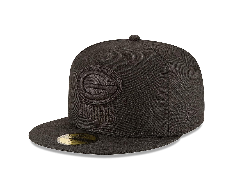 Green Bay Packers heather schwarz New Era STRIPED Hoody