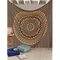 Aakriti Gallery Tapestry Queen Ombre Gift Hippie Tapestries Mandala Bohemian Psychedelic Intricate Indian Bedspread…