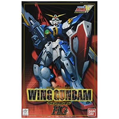 Bandai Hobby #01 1/100 Model W Series Wing High Grade Gundam Action Figure: Toys & Games