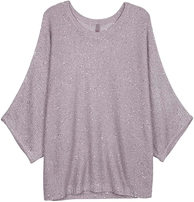76bd35bbd Melissa McCarthy Seven7 Plus Size Embellished Batwing-Sleeve Sweater (1X)