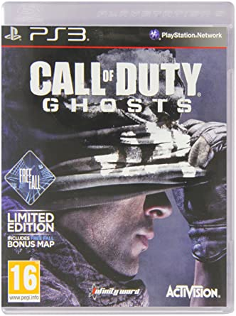 Amazon.com: Call Of Duty Ghosts - Limited Edition with FreeFall DLC on