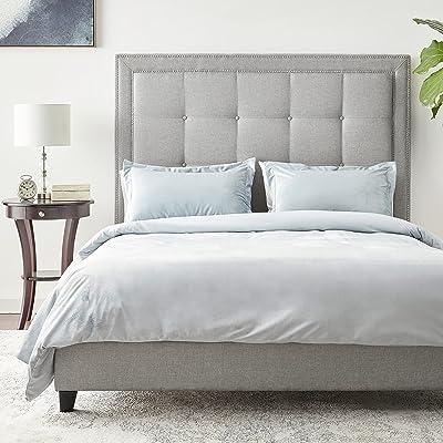 Buy Baxton Studio Hirst Platform Bed Queen Grey Online In Slovakia B01e9wc1jc