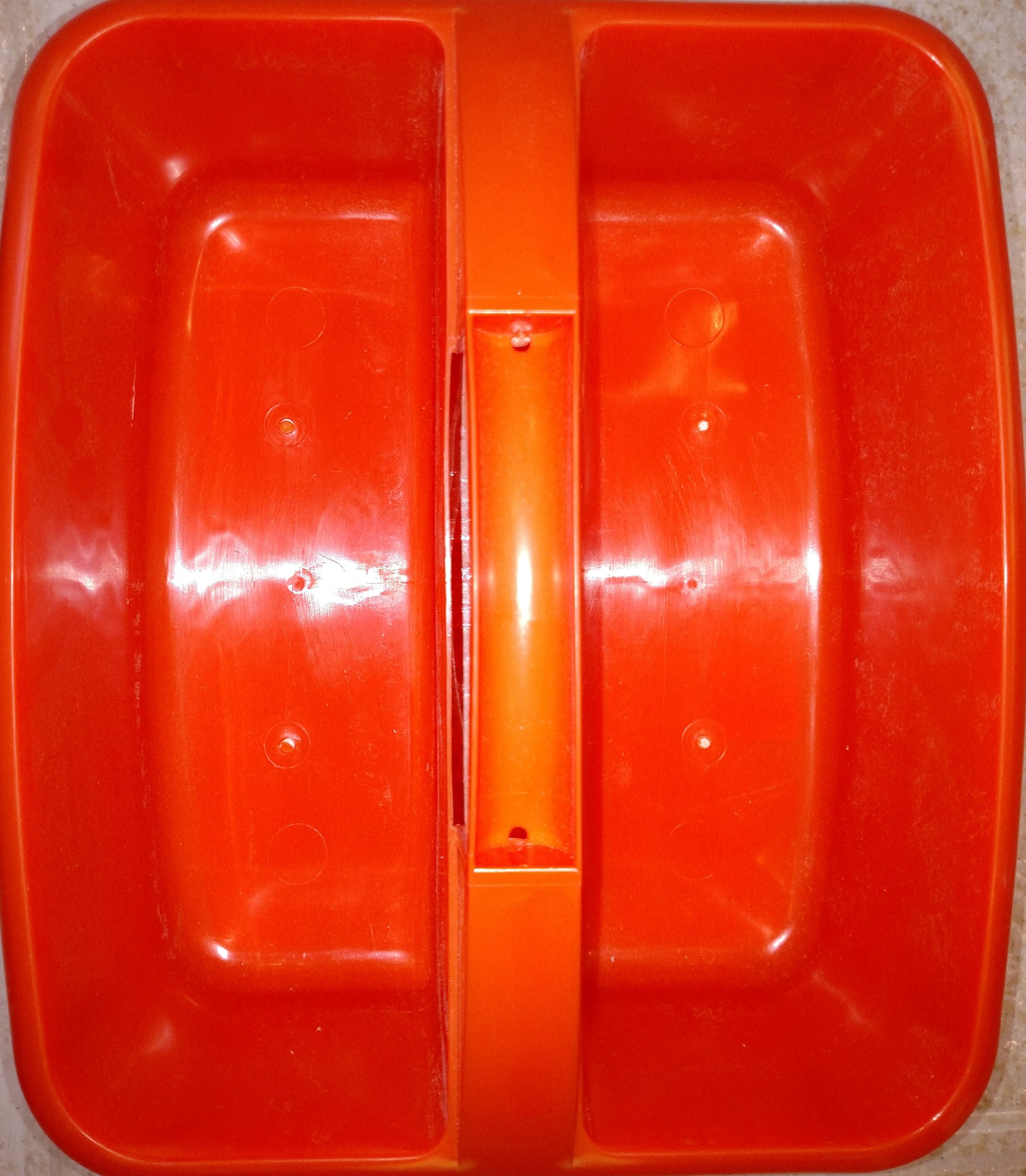 1 X Large Utility Caddy Orange By Romanoff Products