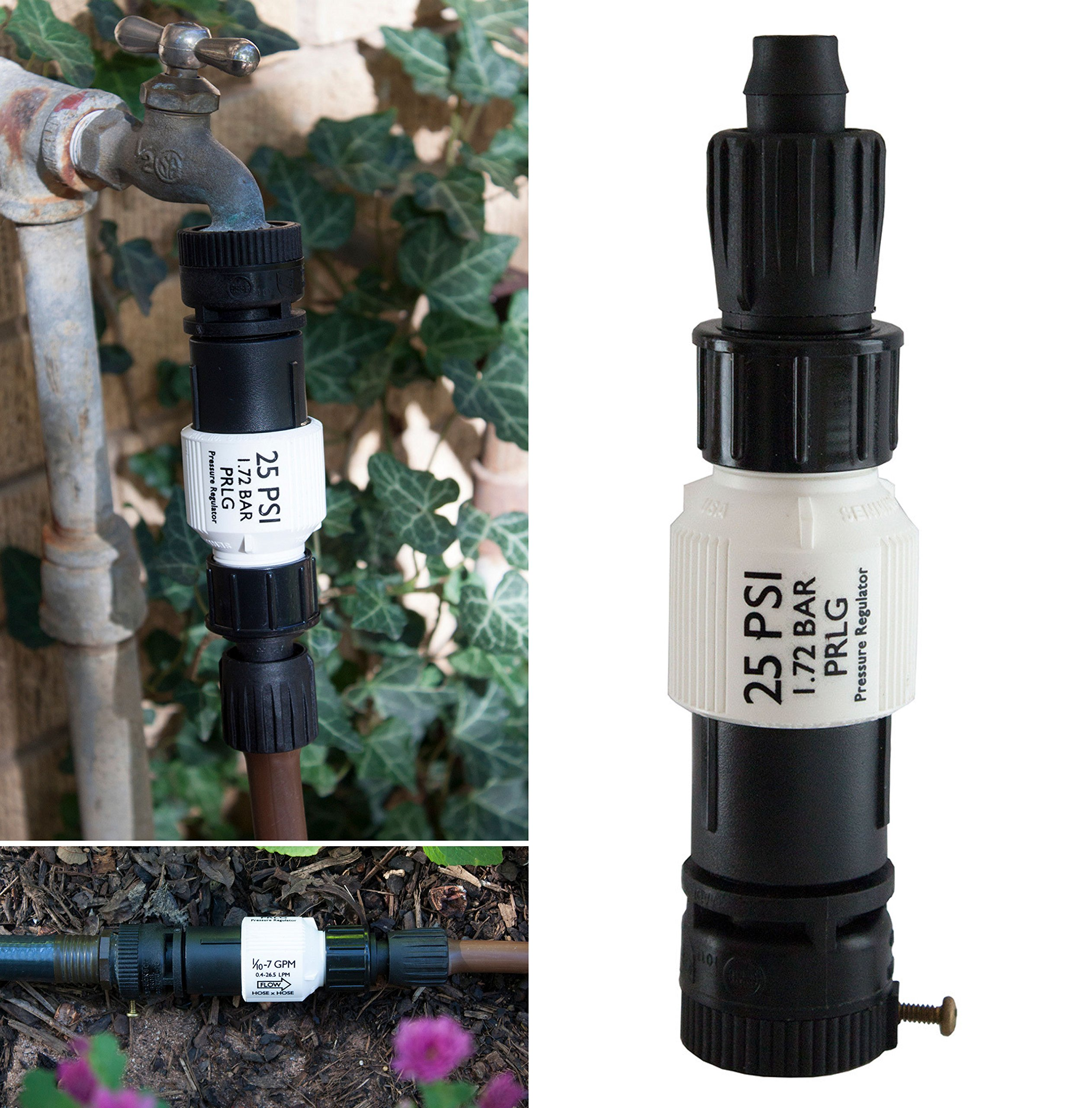 Habitech Drip Irrigation Faucet Adapter Kit: Connect 1/2\