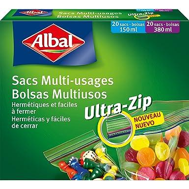 Albal - Aroma micro, bolsas herméticas, 2 paquetes, cada uno ...