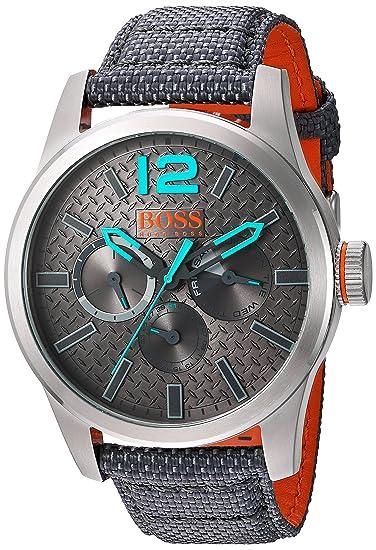 3f67ee0cd8a7 Hugo Boss Reloj para Hombre Paris Multieye Carátula Gris