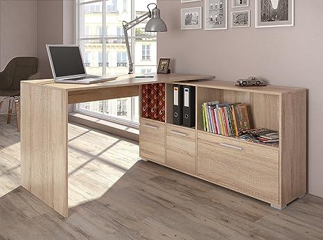Scrivania Angolo Computer : Scrivania angolare angolo scrivania computer tavolo ufficio tavolo