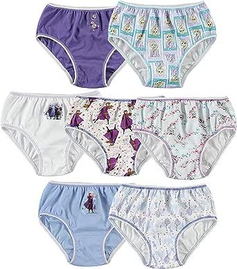 Disney Little Girls' Frozen Seven-Pack Panty Set - Multi
