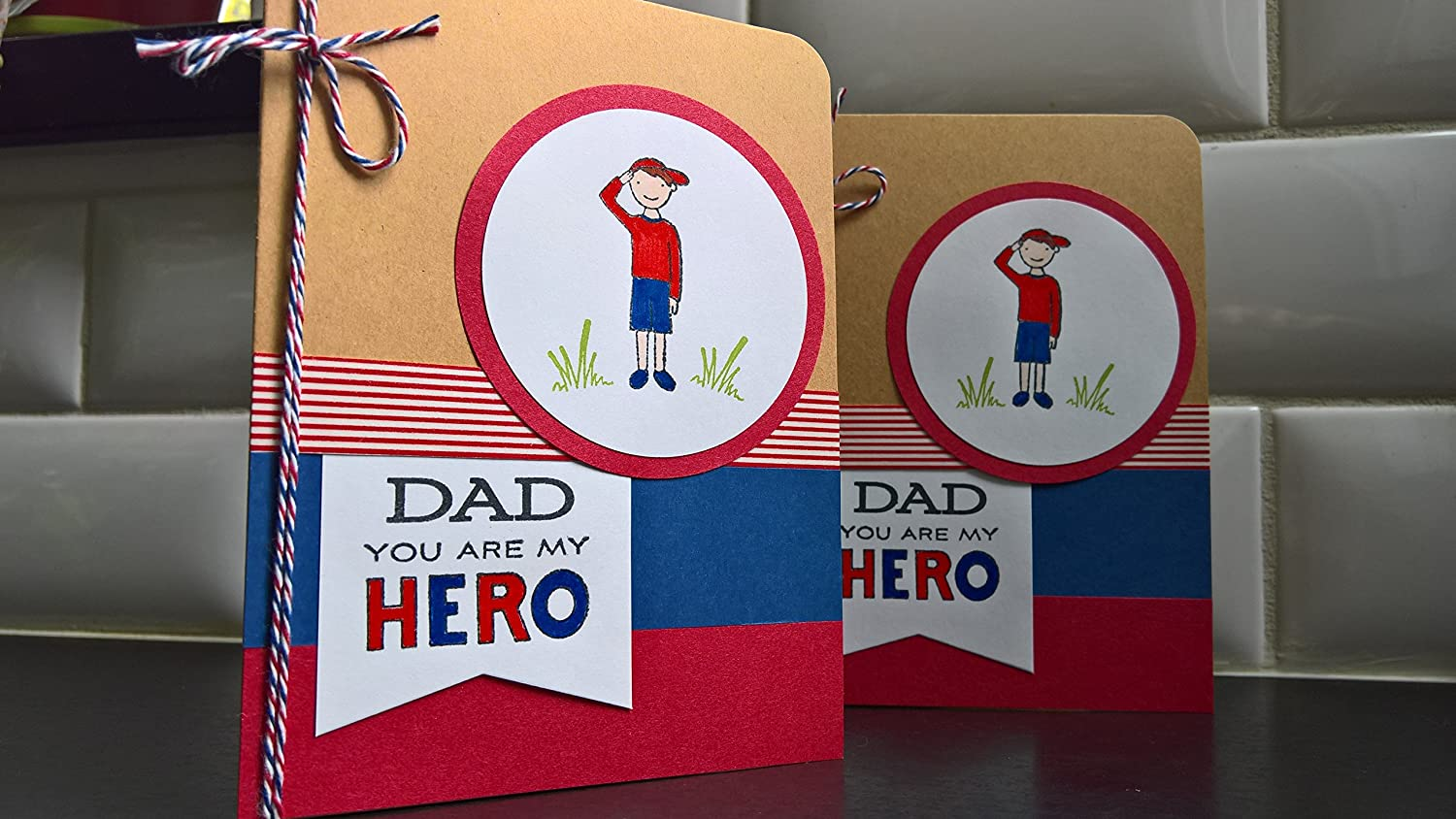 Fathers Day Card Dads Day Card Patriotic Birthday Card for Dad Armed Services Card Card for Military Dad You are My Hero