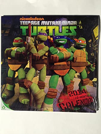 Amazon.com: 2014 Teenage Mutant Ninja Turtles 16 Mes ...