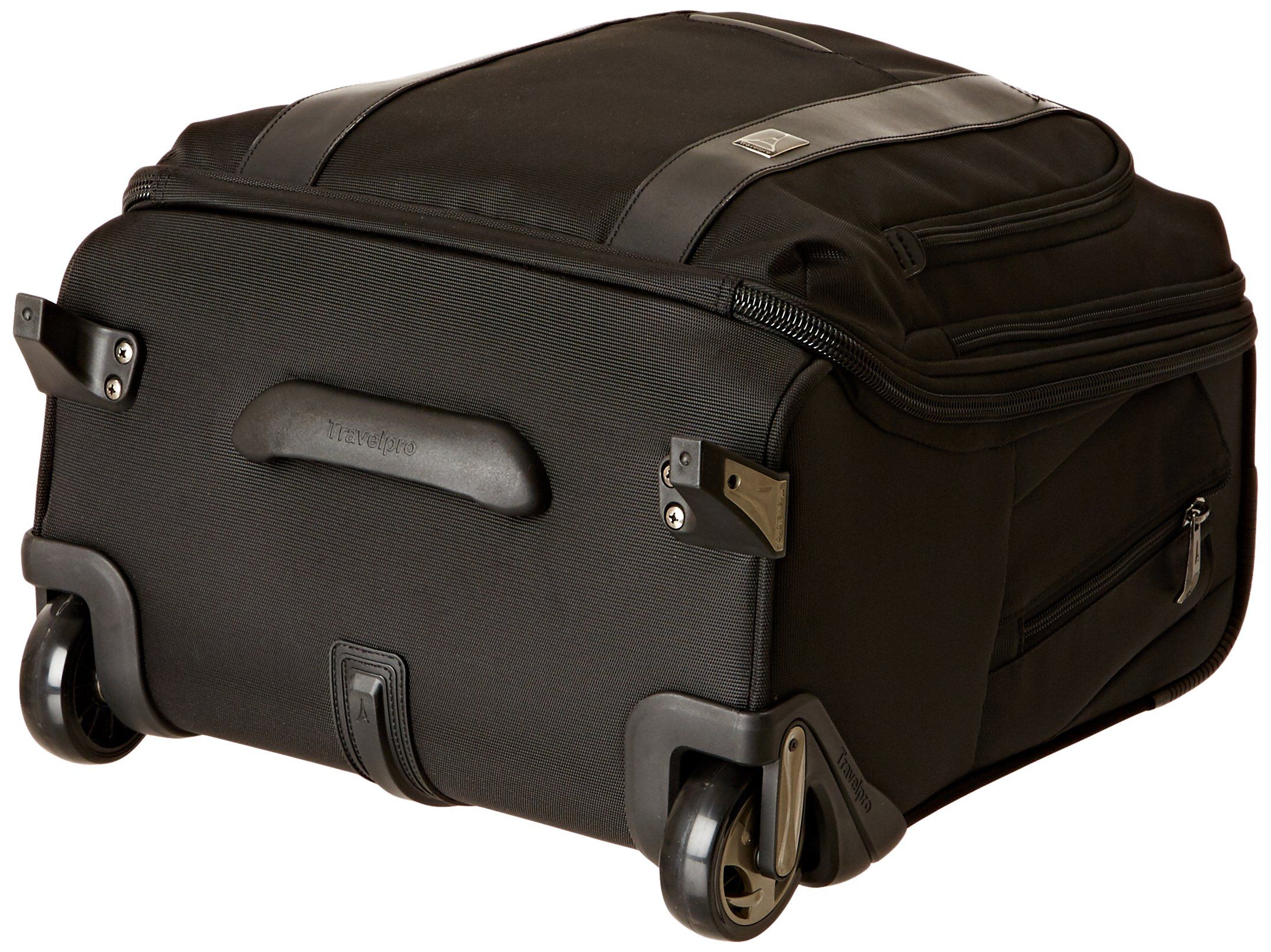Travelpro Executive Choice Crew 16 Inch Rolling Business Brief, Black, One Size by Travelpro (Image #4)