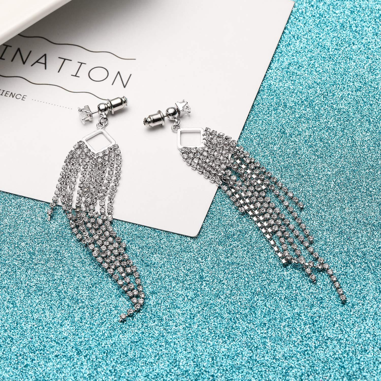 SOJOS S926 Sterling Silver Earrings Punk Simple Style Earring For Women Jewelry SJ3034F