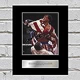 Foto enmarcada y autografiada de Rocky IV, Sylvester Stallone