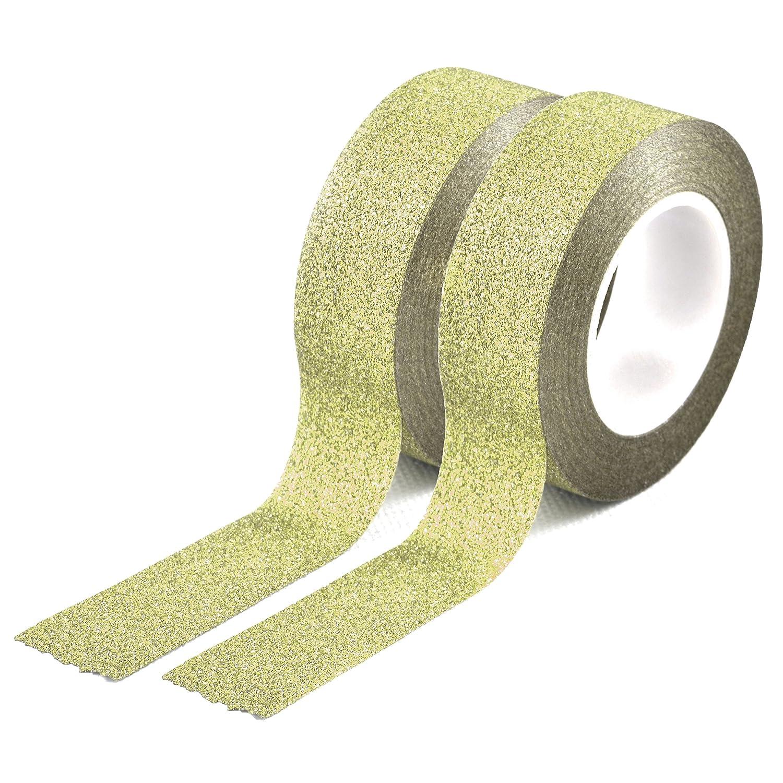 Set 2 youzings washi couleur or, masking tape-ruban adhésif washi tape marque youzings