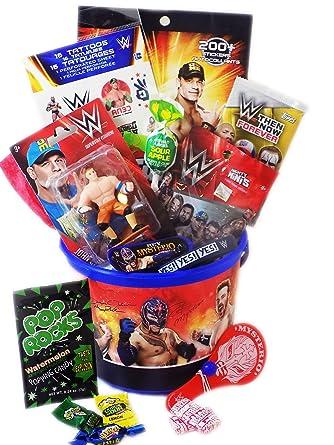 Mattel WWE Wrestling cesta Candy y Regalo de juguete con ...