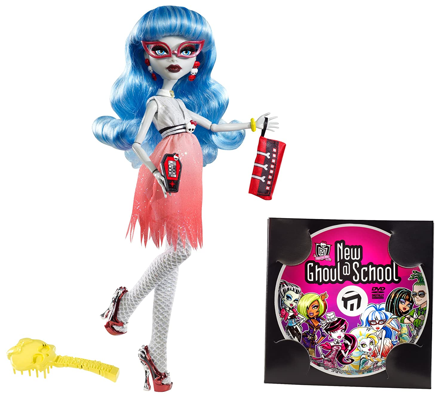amazoncom monster high dawn of the dance ghoulia yelps doll toys games - Ghoulia Yelps