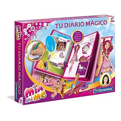 MIA AND ME Me - Diario mágico (Clementoni 55006): Juguetes y juegos