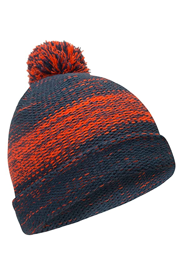 02f176a28 Amazon.com: Mountain Warehouse Mark Mens Beanie - Warm Winter Cap ...