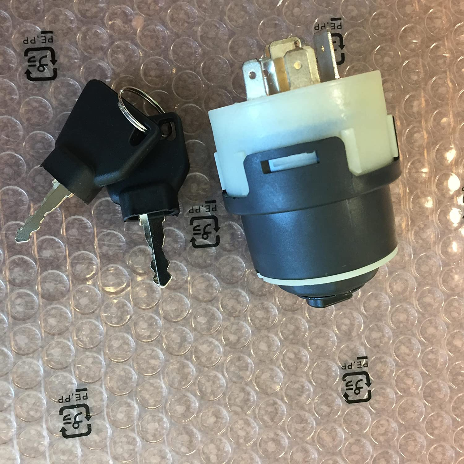 701//45500 JCB BACKHOE GENUINE IGNITION SWITCH WITH 2 KEYS 701//80184