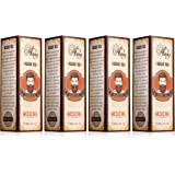 Captain Thug Medieval Beard Oil Conditioner – Ultra Premium Ayurveda – 9 Essential Oils – Softens, Smooths & Strengthens Beard Growth – Grooming Beard and Mustache Nourishment Treatment – 1 fl. oz. (Pack of 4 (4.fl.oz.))