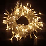 PMS 50/100/200/300/400/500 LED Battery Power Operated String Fairy Lights Christmas Xmas Party (Warm White, 500 LEDs)
