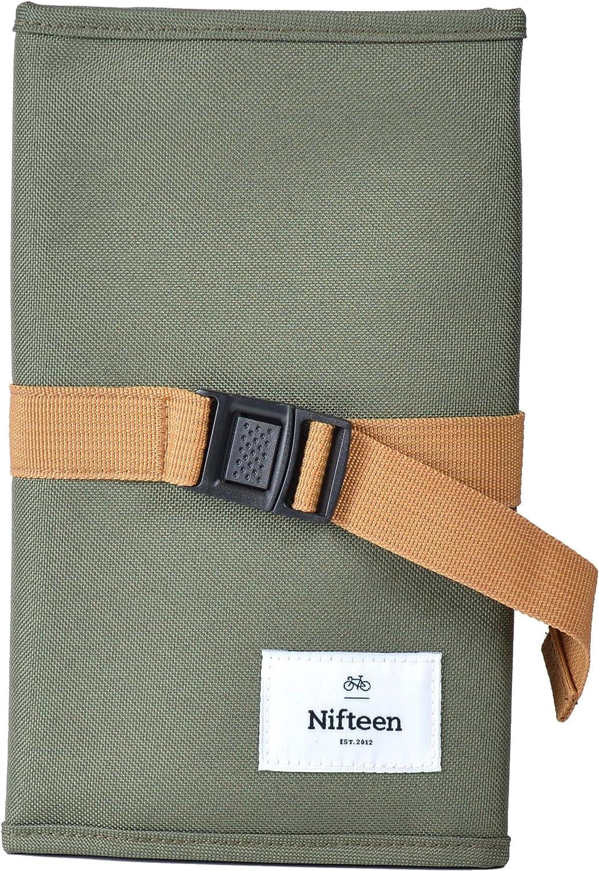 Amazon Com Nifteen Durban Travel Organiser Bag For Laptop Green Computers Accessories