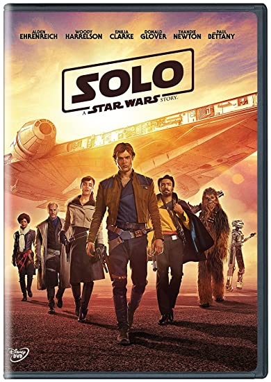 Image result for solo a star wars story dvd