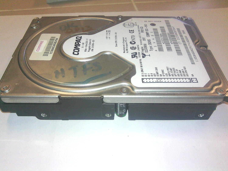 Compaq 9.1GB Type DGHS COMP IEC-950 Wide ultra SCSI-3 Pluggable 80-Pin 3.5-Inch Internal Hard Drive Mfr P//N 313706-B21 PN59H6606