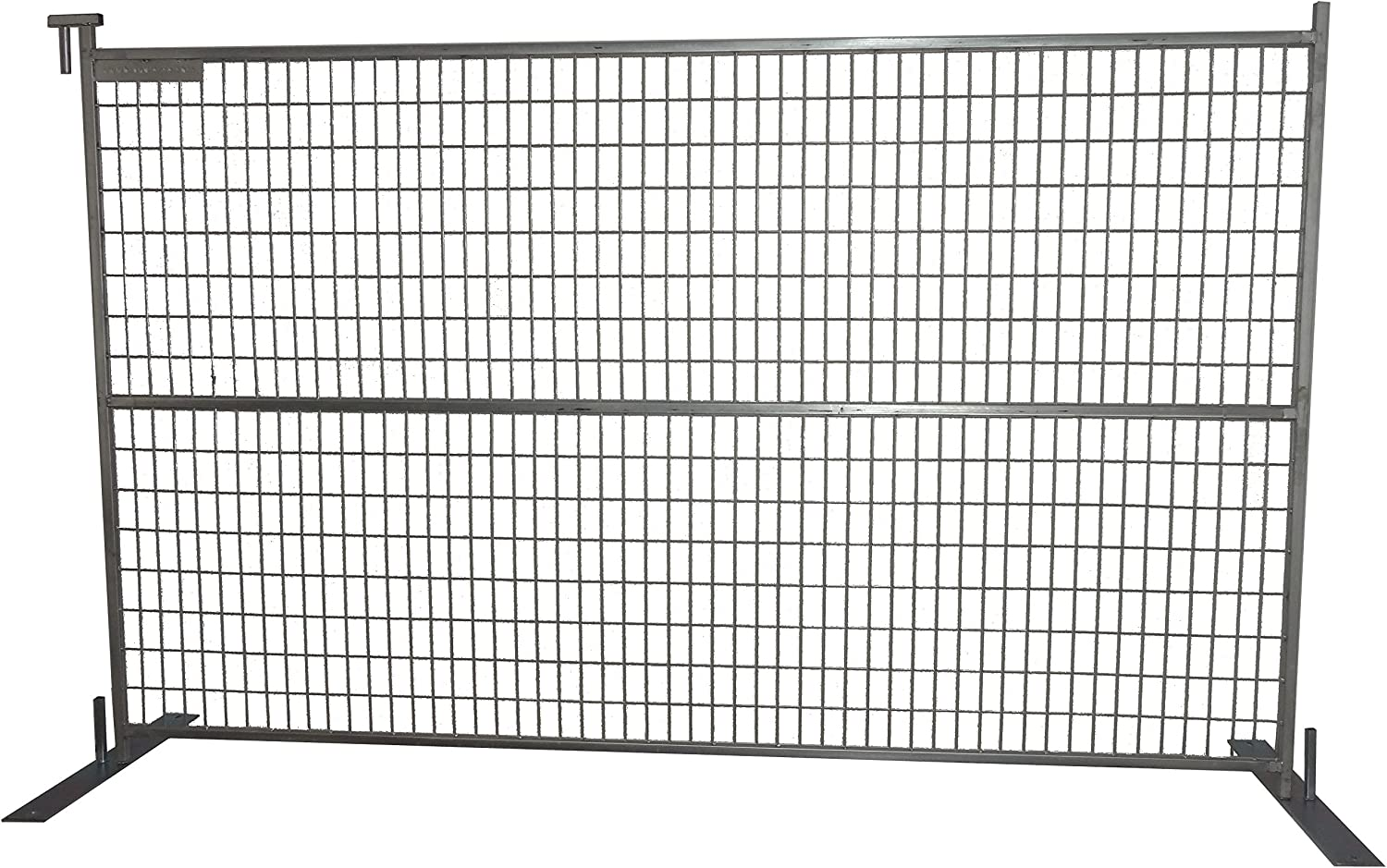Broadfence Select Temporary Construction Fence Panels Welded Steel Wire Mesh Portable Gate Safety Chain Link Amazon Com