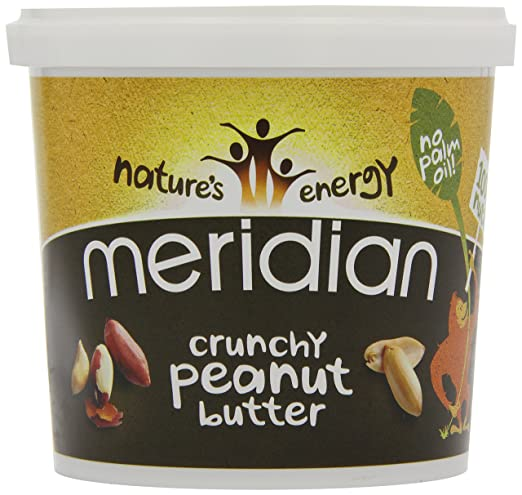67 opinioni per Meridian Natural Crunchy Peanut Butter- No added sugar and no added salt- 1kg