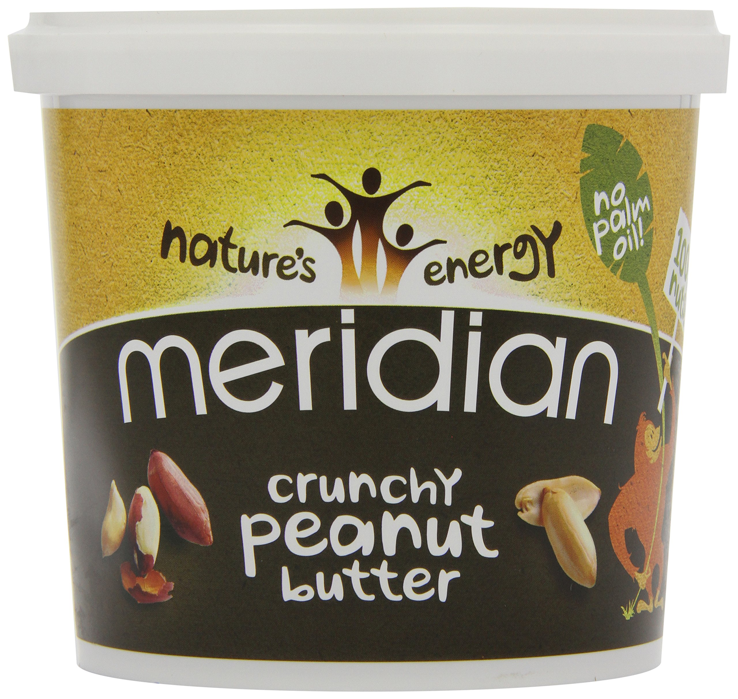 Meridian - Crunchy Peanut Butter - 1Kg