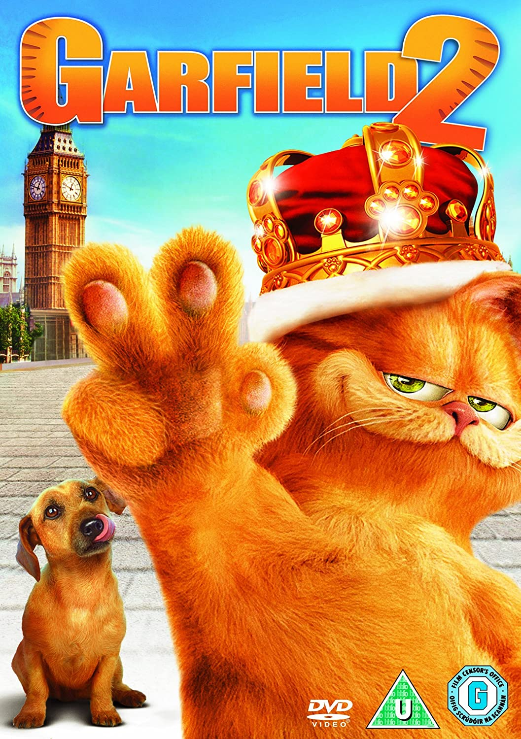 Amazon Com Garfield 2 A Tale Of Two Kitties Dvd Movies Tv