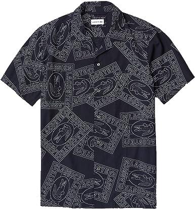 Lacoste - Camisa Punto Manga Corta Hombre: Amazon.es: Ropa y accesorios