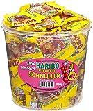 Haribo Mini Sucettes Enfants, Bonbons, Bonbons Gélifiés, Bonbons Fruités, 100 Mini Sachets, Boîte 980 g